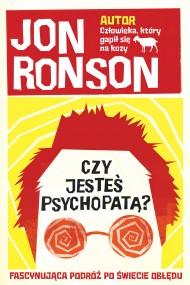 okładka Czy jesteś psychopatą?. Ebook | EPUB,MOBI | Jon Ronson