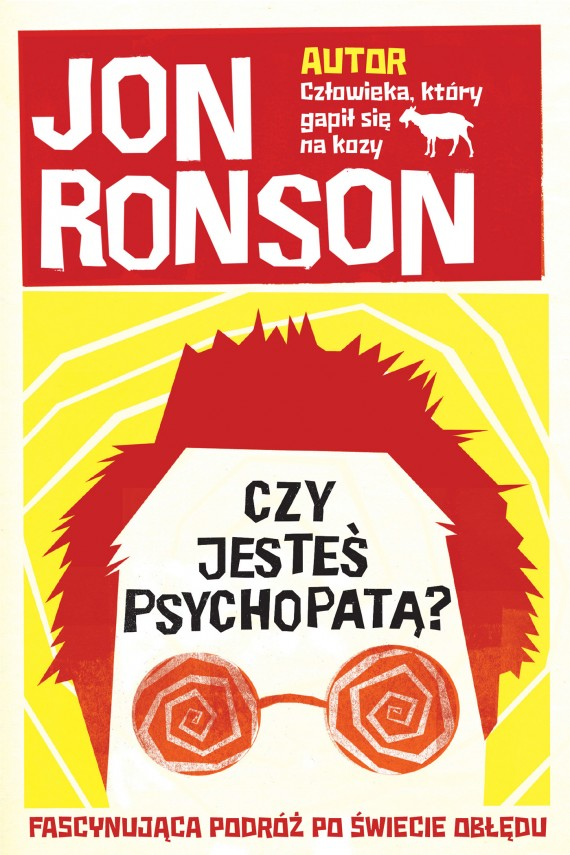 okładka Czy jesteś psychopatą?ebook | EPUB, MOBI | Jon Ronson
