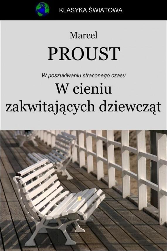 okładka W cieniu zakwitających dziewcząt. Ebook | EPUB, MOBI | Marcel Proust