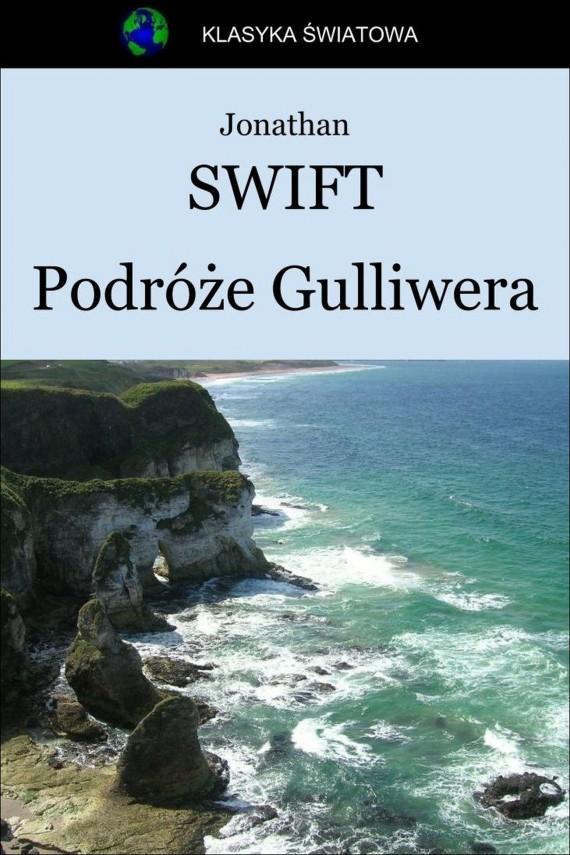 okładka Podróże Gulliwera. Ebook | EPUB, MOBI | Jonathan Swift
