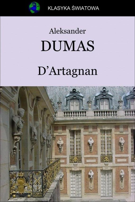 okładka D'Artagnan. Ebook | EPUB, MOBI | Aleksander Dumas (Ojciec)