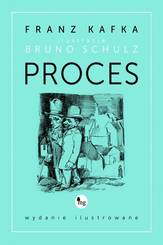 okładka Proces - wydanie ilustrowane. Ebook | EPUB, MOBI | Franz Kafka