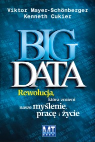 okładka Big Data. Ebook | papier | Victor Meyer-Schonberger, Kenneth Cukier