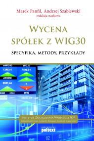 okładka Wycena spółek z WIG 30. Ebook | Marek  Panfil, Andrzej  Szablewski