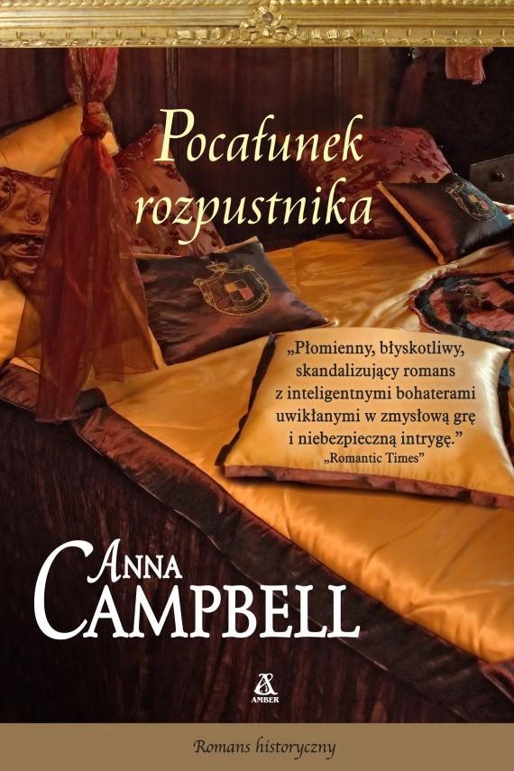 okładka Pocałunek rozpustnika. Ebook | EPUB, MOBI | Anna CAMPBELL