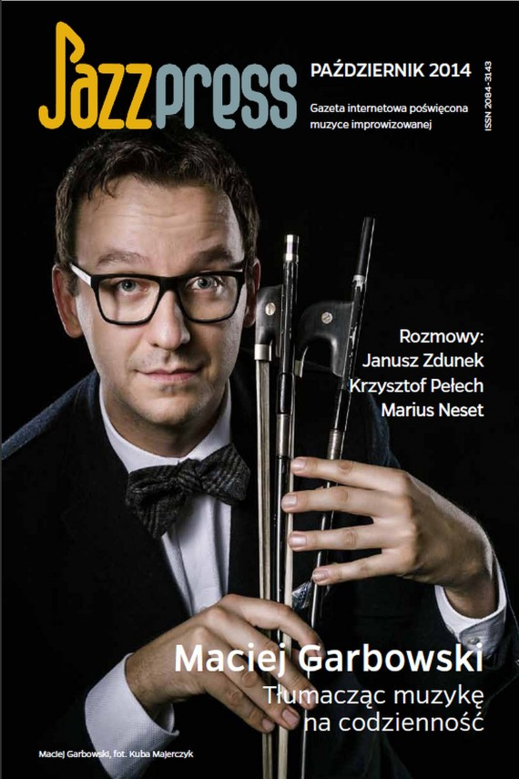 okładka JazzPRESS – październik 2014. Ebook   PDF   autor zbiorowy