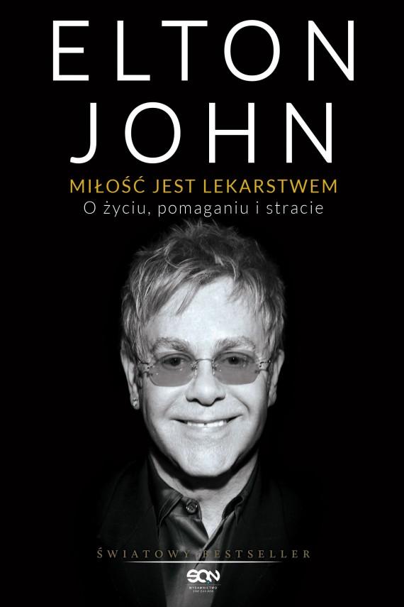 okładka Miłość jest lekarstwem. Ebook   EPUB, MOBI   Elton John