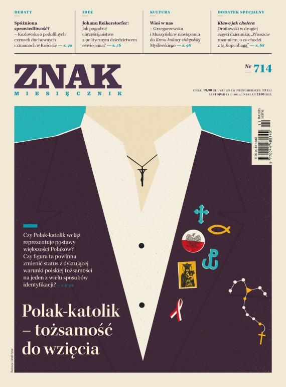 okładka ZNAK Miesięcznik nr 714 (11/2014)ebook | EPUB, MOBI | autor zbiorowy
