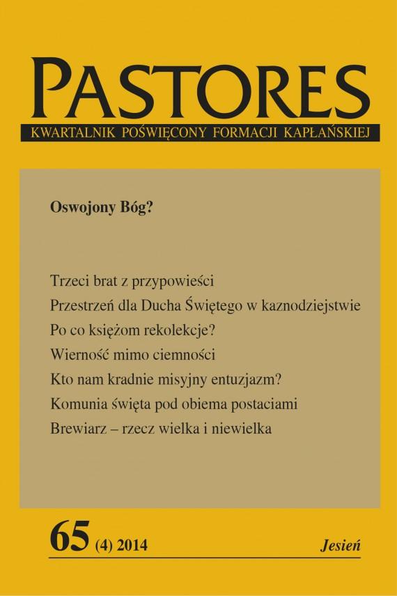 okładka Pastores 65 (4) 2014ebook | EPUB, MOBI | Zespół Redakcyjny