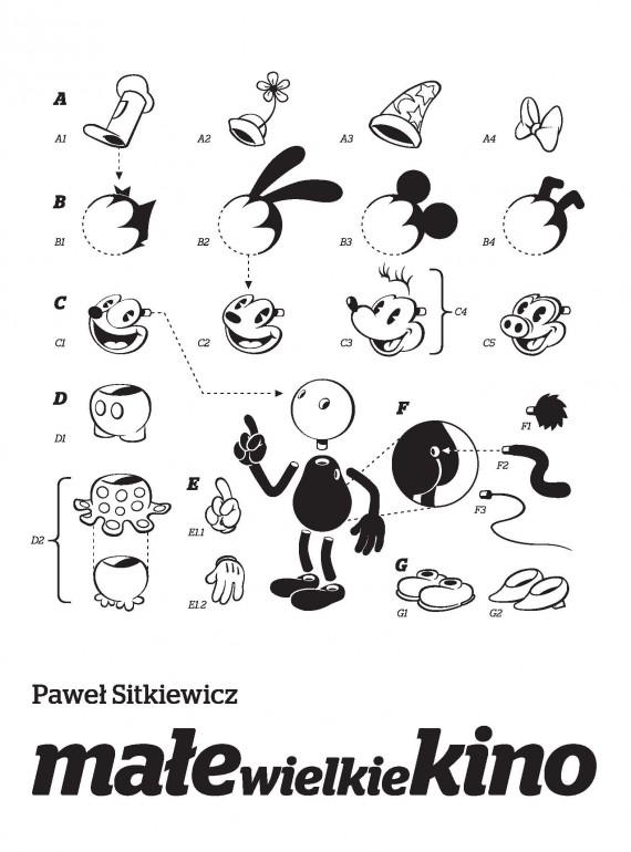 okładka Małe wielkie kino. Film animowany od narodzin do końca okresu klasycznego.. Ebook | EPUB, MOBI | Paweł Sitkiewicz