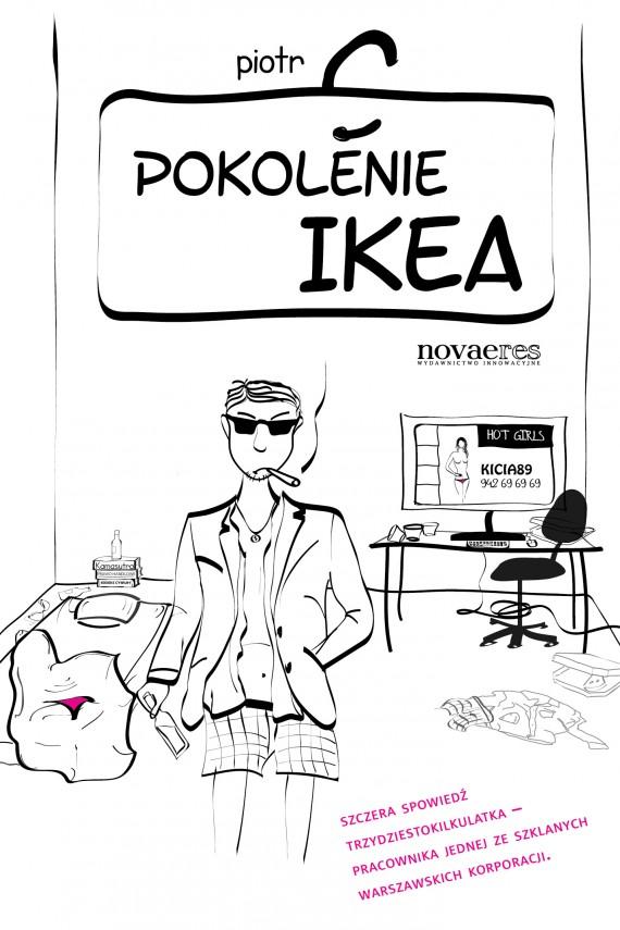 okładka Pokolenie Ikeaebook | EPUB, MOBI | Piotr  C