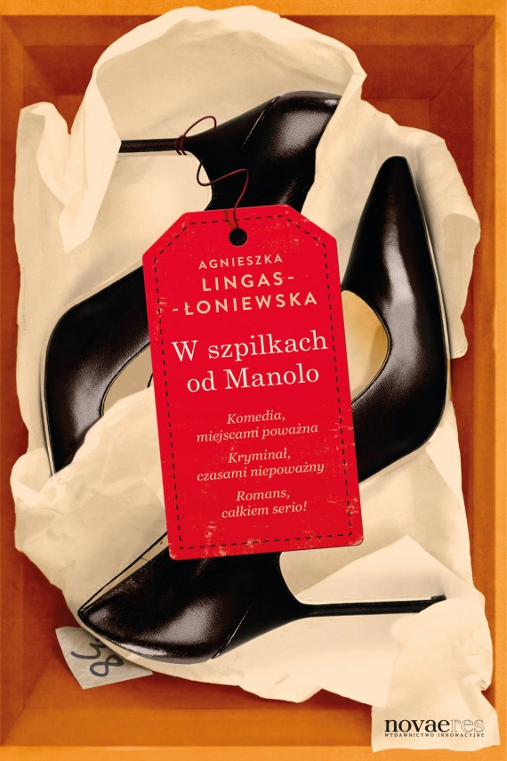 okładka W szpilkach od Manolo. Ebook | EPUB, MOBI | Agnieszka Lingas-Łoniewska