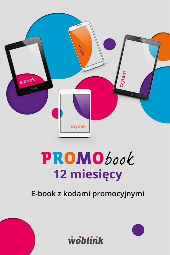 okładka Promobook na 12 miesięcy. Ebook | EPUB, MOBI | opracowanie zbiorowe