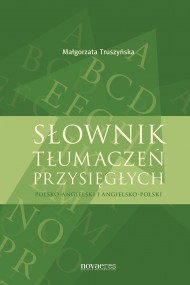okładka Słownik tłumaczeń przysięgłych. Ebook   EPUB,MOBI   Małgorzata  Truszyńska
