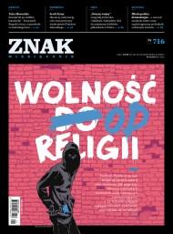 okładka ZNAK Miesięcznik nr 716 (1/2015). Ebook | EPUB,MOBI | autor zbiorowy