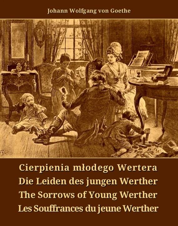 okładka Cierpienia młodego Wertera. Ebook | EPUB, MOBI | Johann Wolfgang  von Goethe