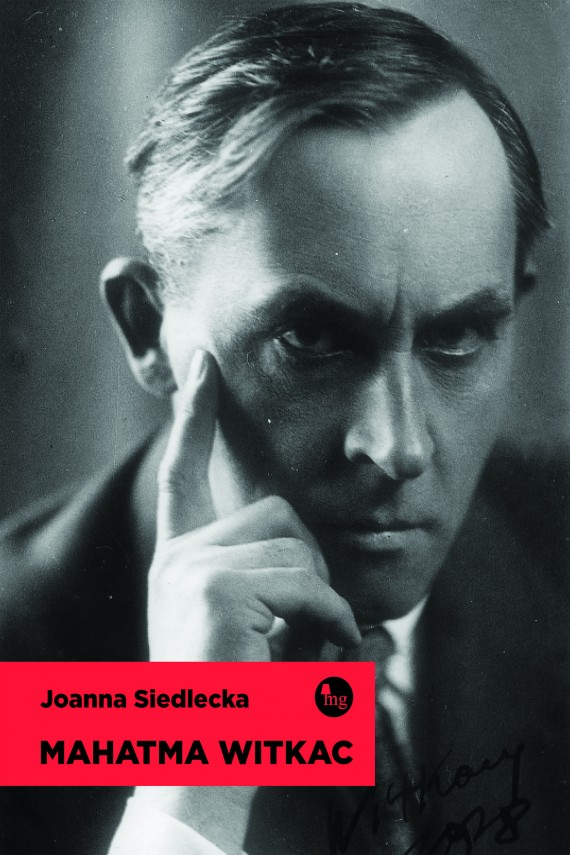 okładka Mahatma Witkac. Ebook | EPUB, MOBI | Joanna Siedlecka