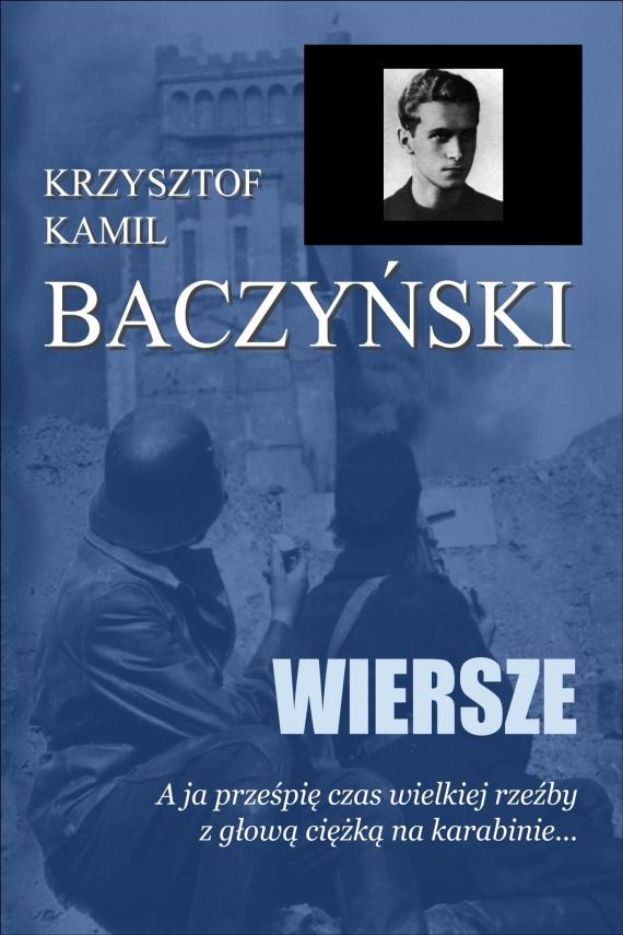okładka Wierszeebook | EPUB, MOBI | Krzysztof Kamil Baczyński