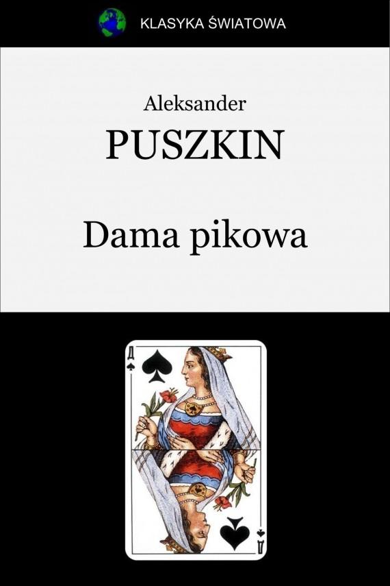 okładka Dama pikowa. Ebook | EPUB, MOBI | Aleksander Puszkin