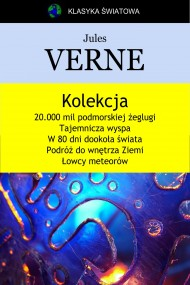 okładka Kolekcja Verne'a, Ebook | Jules Verne