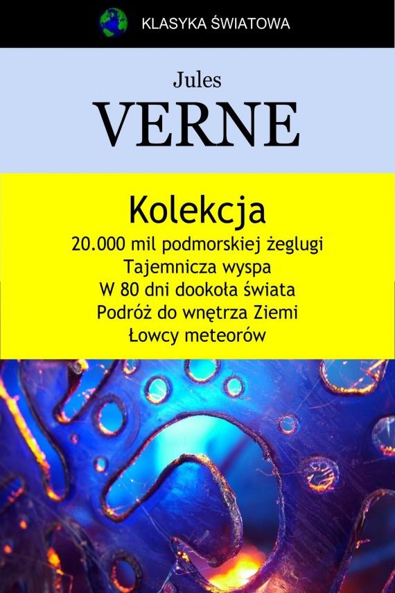 okładka Kolekcja Verne'a. Ebook | EPUB, MOBI | Jules Verne