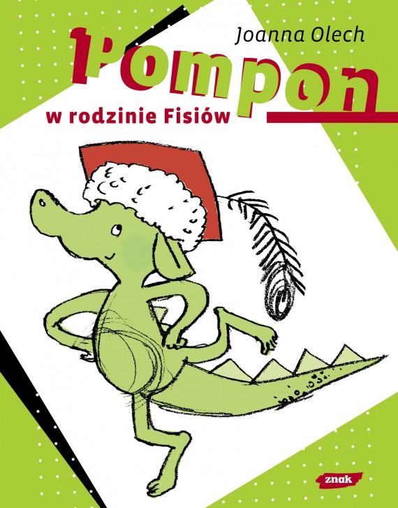 okładka Pompon w rodzinie Fisiówebook | EPUB, MOBI | Joanna Olech