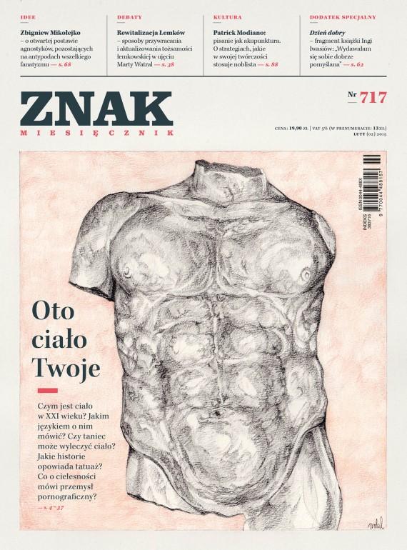 okładka ZNAK Miesięcznik nr 717 (2/2015). Ebook | EPUB, MOBI | autor zbiorowy