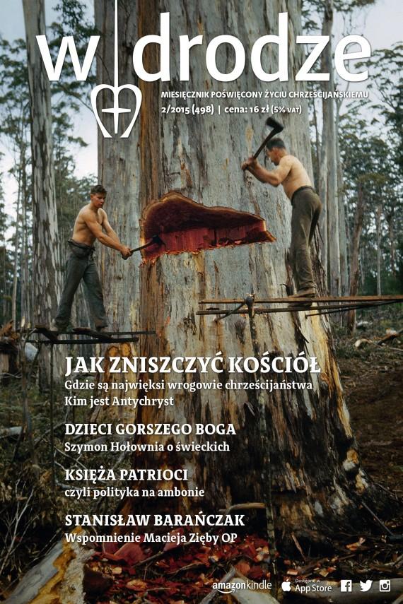 okładka Miesięcznik  W drodze 2/2015ebook | EPUB, MOBI | Opracowanie zbiorowe