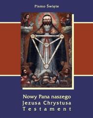 okładka Pismo Święte Nowy Pana naszego Jezusa Chrystusa Testament. Ebook | EPUB,MOBI | Praca zbiorowa