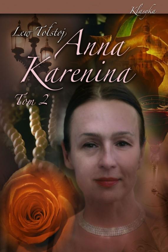 okładka Anna Karenina. Tom IIebook   EPUB, MOBI   Lew Tołstoj