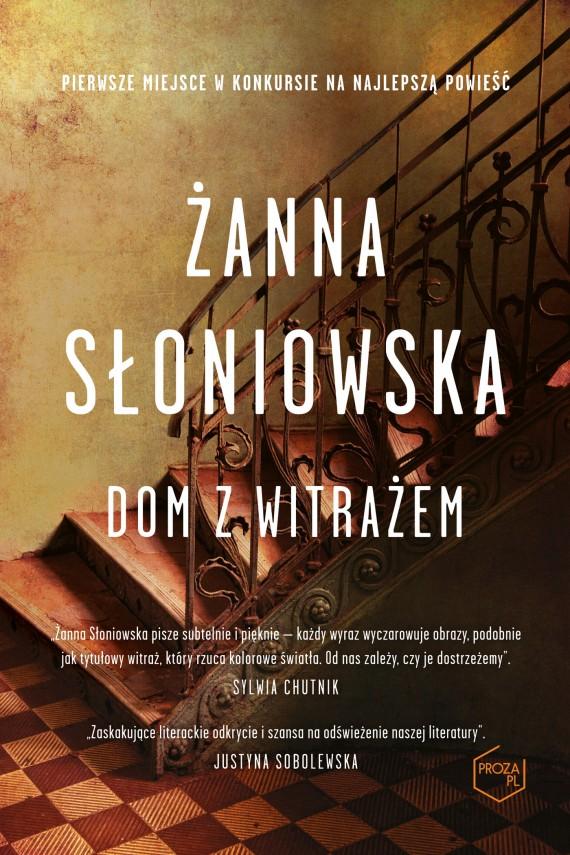 okładka Dom z witrażemebook | EPUB, MOBI | Żanna Słoniowska