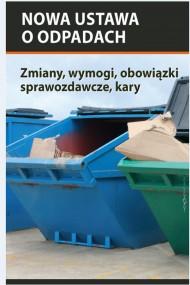 okładka Nowa ustawa o odpadach. Ebook | EPUB,MOBI | Bartłomiej  Matysiak