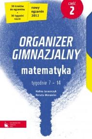 okładka Matematyka cz. 2. Organizer gimnazjalny. Ebook | EPUB_DRM,MULTI | Halina Juraszczyk, Renata Morawiec
