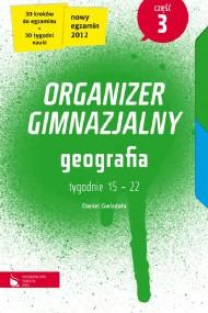 okładka Geografia cz. 3. Organizer gimnazjalny. Ebook   EPUB_DRM,MULTI   Daniel Gwizdała