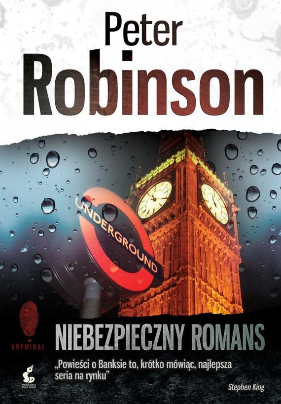 okładka Niebezpieczny romansebook | EPUB, MOBI | Peter  Robinson