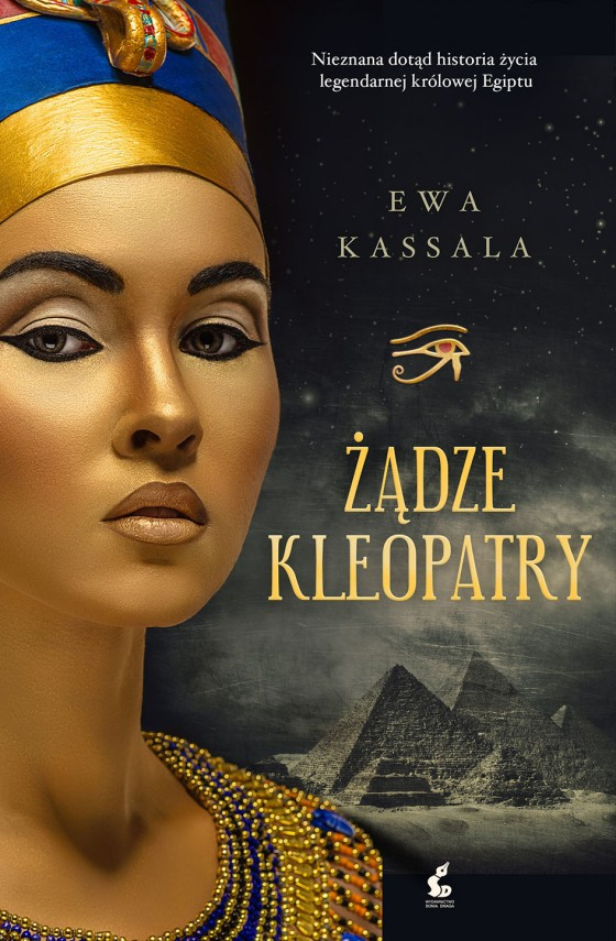 okładka Żądze Kleopatryebook | EPUB, MOBI | Ewa Kassala