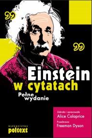 okładka Einstein w cytatach, Ebook | Alice Calaprice