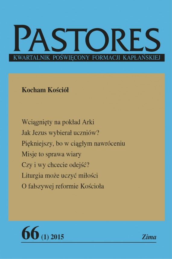 okładka Pastores 66 (1) 2015. Ebook | EPUB, MOBI | Opracowanie zbiorowe