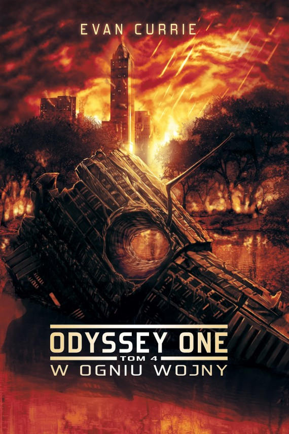 okładka Odyssey One. Tom 4. W ogniu wojny. Ebook | EPUB, MOBI | Evan Currie