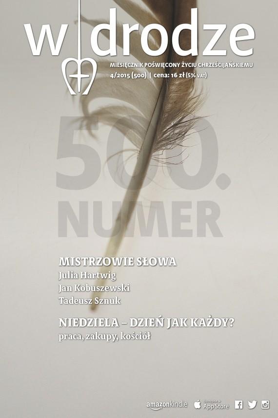 okładka Miesięcznik W drodze 4/2015ebook   EPUB, MOBI   opracowanie zbiorowe