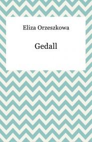 okładka Gedall, Ebook | Eliza Orzeszkowa