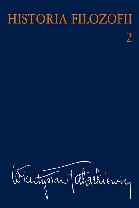 okładka Historia filozofii Tom 2ebook | EPUB, MOBI | Władysław  Tatarkiewicz
