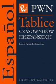 okładka Tablice czasowników hiszpańskich. Ebook | papier | Izabella  Fabjańska-Potapczuk