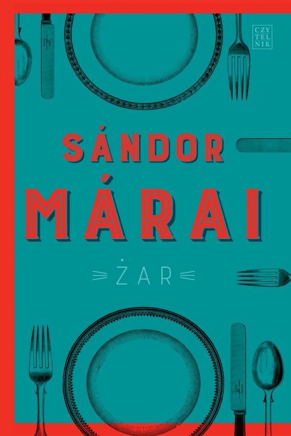 okładka Żar. Ebook | EPUB, MOBI | Sándor Márai