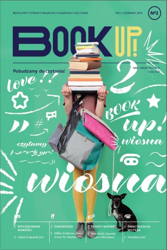 okładka Book Up! Pobudzamy do czytania numer 2ebook | EPUB, MOBI | Zespół Redakcyjny