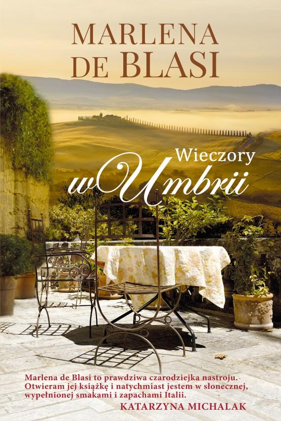 okładka Wieczory w Umbrii. Ebook | EPUB, MOBI | Marlena de Blasi