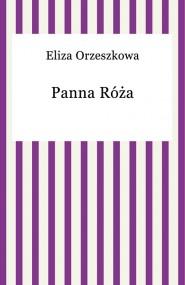 okładka Panna Róża, Ebook | Eliza Orzeszkowa