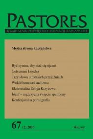okładka Pastores 67 (2) 2015. Ebook | papier | Opracowanie zbiorowe