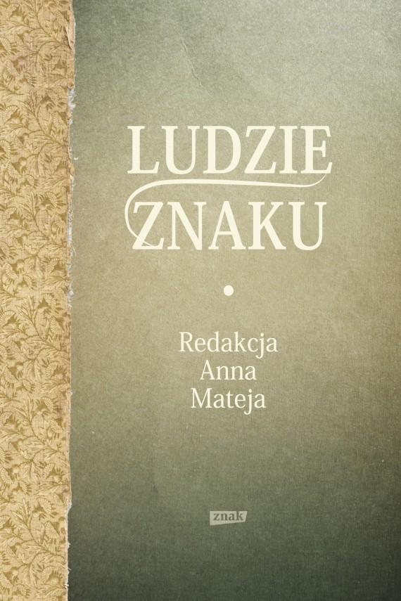 okładka Ludzie Znakuebook | EPUB, MOBI | Anna Mateja