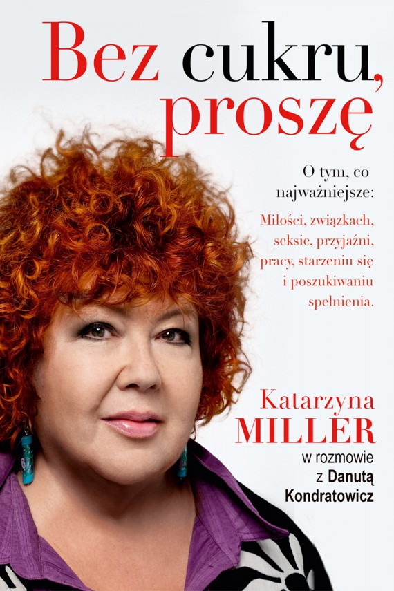 okładka Bez cukru, proszęebook | EPUB, MOBI | Katarzyna Miller, Danuta Kondratowicz